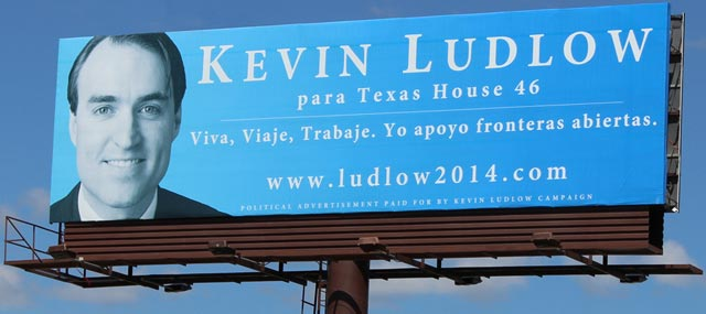Ludlow Billboard in Manor